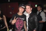 Actor Yasuhisa Fukuhara and Jackson Rathbone