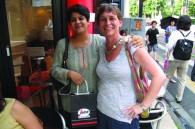 Elizabeth Gillies and Asha Pai Sethi