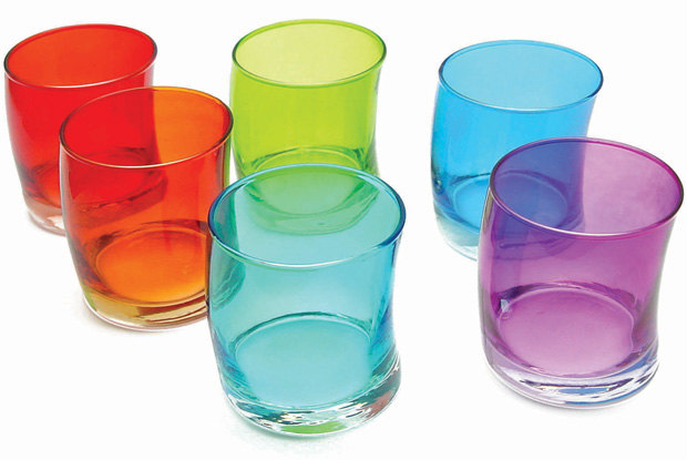 'Swing' curved tumblers