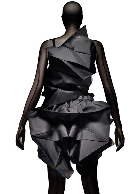 Origami dress by Issey Miyake