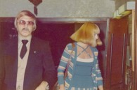 The Weekender's own dapper Bill Hersey with a mystery blonde