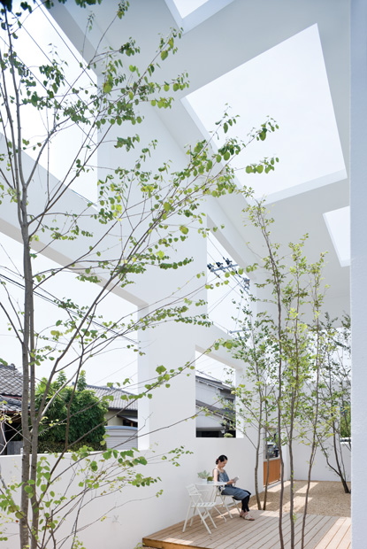 Man and nature, architecture of Sou Fujimoto