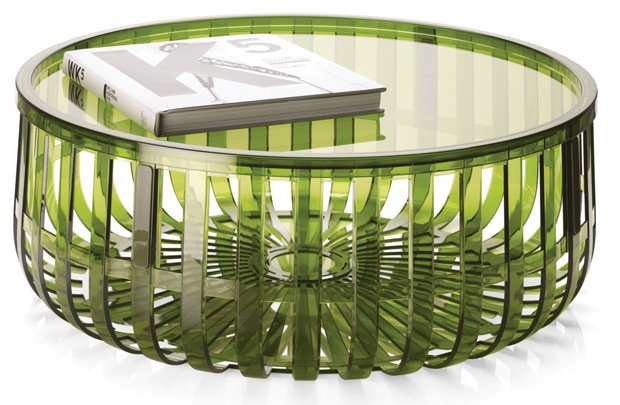 Kartell Panier Table by Brothers Ronan and Erwan Bouroullec