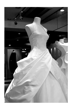 Wedding dress by Eri Matsui