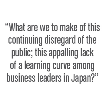 Question to business leaders in Japan