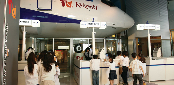 KidZania education aspects