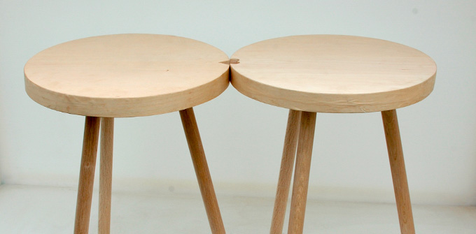 Stools by Tama Art University student