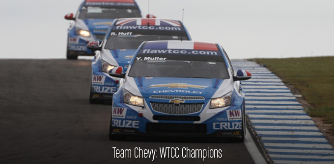 Team Chevy: WTCC Champions