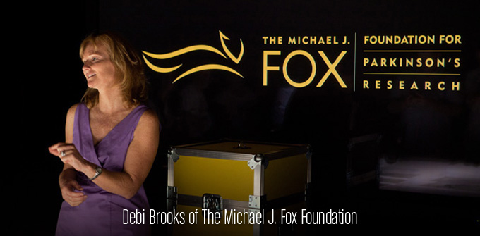 Debi Brooks of Michael J. Fox Foundation