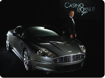 Aston Martin for James Bond
