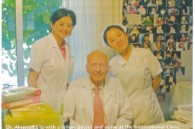 Dr. Aksenoff, doctor and nurse