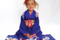 Photo in kimono