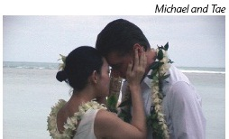 Weddings of Michael and Tae