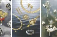 Jewelery with diamonds