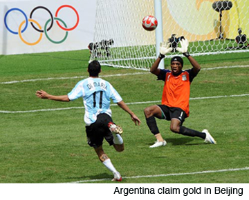 Argentina claim gold in Beijing