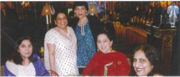 Padma Nanwani, Kamal Satbhag Paul, Rashmi Gupta, Jyoti Alagh, Rita Karr