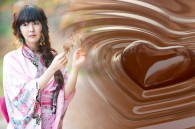 chocolate kimono