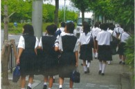 Japanese high school girls