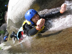 Canyoning in Minakami