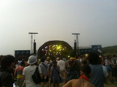 Big Beach stage