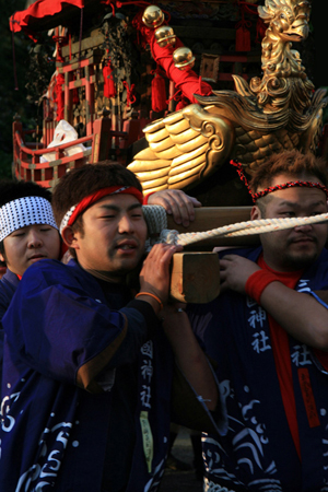 Mikuni Festival, Carrying A Shrine