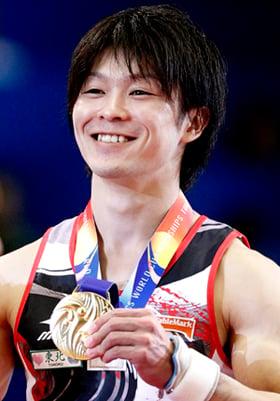 Uchimura takes World gold