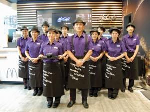McCafe staff