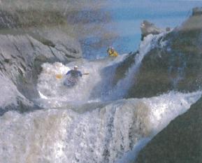 Sam Drevo and Pat Keller near Yubari