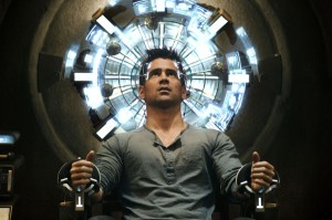 Colin Farrell in 'Total Recall'