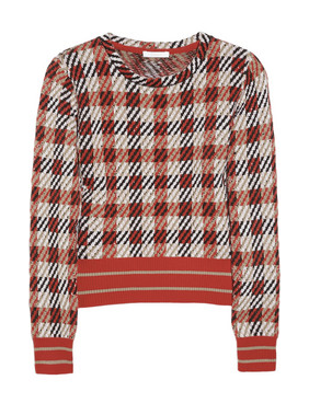 Chloe Checked sweater