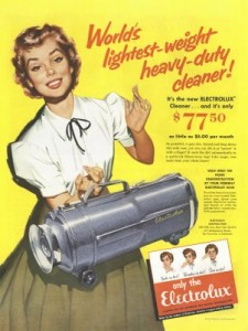 Electrolux first ever vacuum cleaner