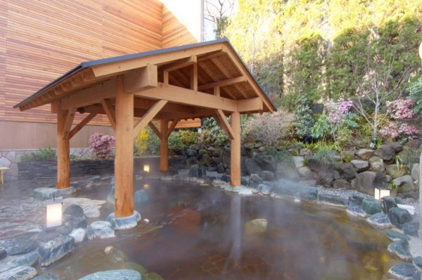 Soaking in an onsen wonderland