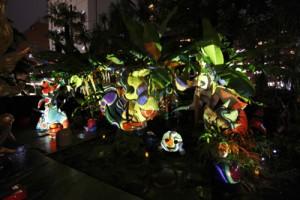 Taro Okamoto Museum illumination