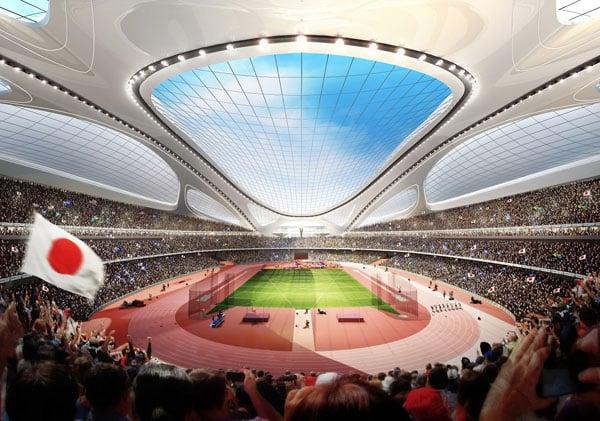 National Stadium inside