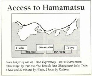Access to Hamamatsu