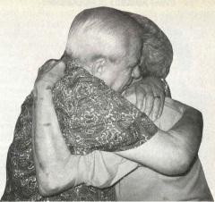 Emotional meeting between Dick Bush & long, lost brother