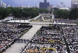 Hiroshima Memorial Ceremony
