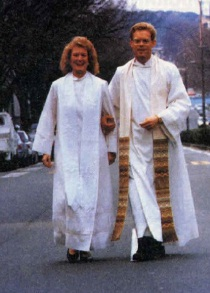 Pastors Mari Thorkelson and Craig Erickson