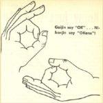 Secrets behind Japanese gestures