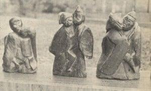 Dosojin couples, god statues