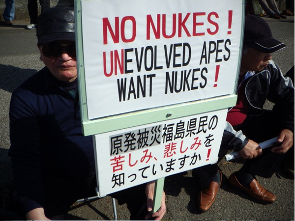 No Nukes (Antinuclear Rally 2013)