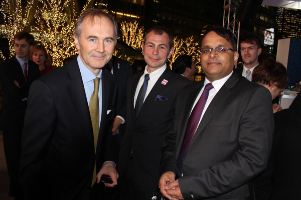 Tim Hitchens, Ashley Harvey and Vishal Sinha