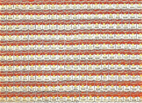 200 Campbell's Soup Cans, 1962 by Andy Warhol