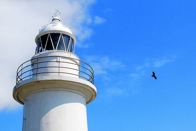 Jogashima lighthouse (photo: Jackson Boyle/Flickr)