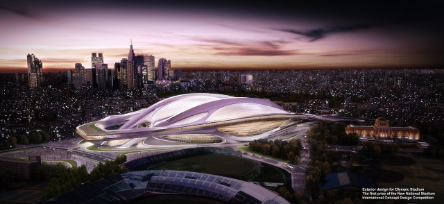 Stadium proposed for the Tokyo 2020 Olympic Bid