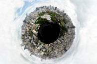 360 degree photo of Tokyo