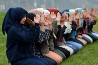 Indonesian high school girls