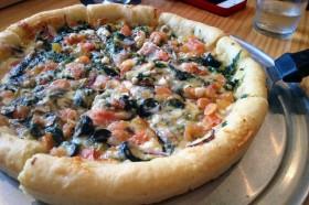 pizza at Devilcraft, Kanda