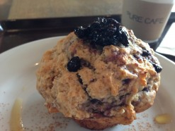 Blueberry Muffin, Pure Cafe