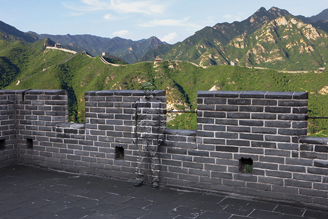 The Great Wall of China, Liu Bolin